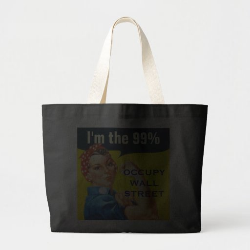 Rosie the Riveter OWS tote bag