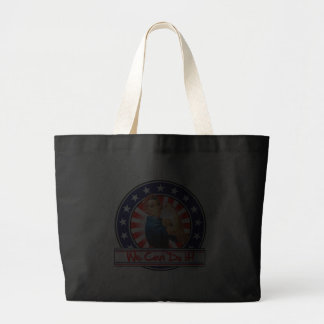 Rosie the Riveter Patriotic We Can Do It Tote Bags