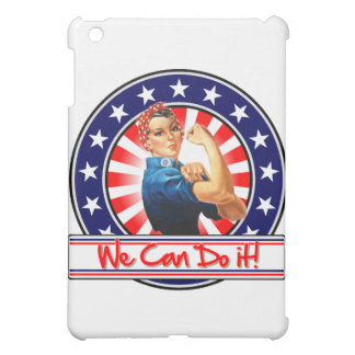 Rosie the Riveter Patriotic We Can Do It iPad Mini Covers