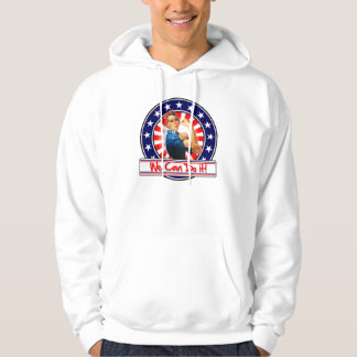 Rosie the Riveter Patriotic We Can Do It Sweatshirts