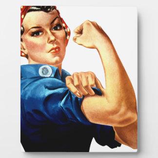 Rosie The Riveter Plaque
