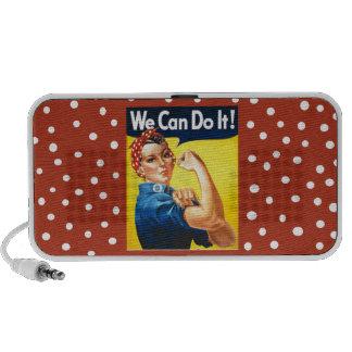 Rosie the Riveter Portable Speaker