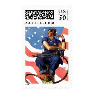 """Rosie the Riveter"" Postage"
