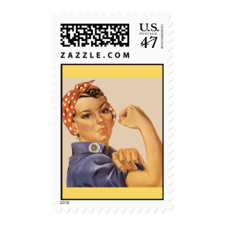 Rosie the Riveter! Postage Stamp