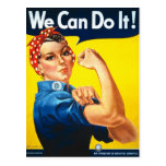 Rosie The Riveter Postcard at Zazzle