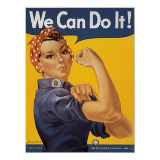Rosie the Riveter Posters