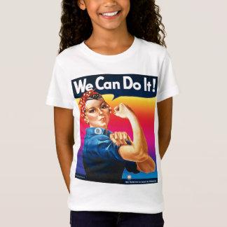 Rosie the Riveter Rainbow Spectrum T-Shirt