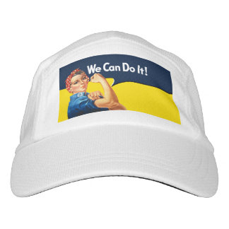 Rosie The Riveter Retro Style Headsweats Hat