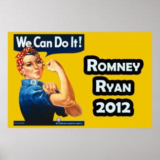 Rosie the Riveter - Romney-Ryan 2012 Poster