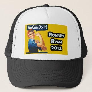 Rosie the Riveter - Romney-Ryan 2012 Trucker Hat