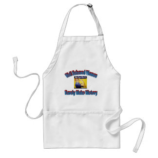 Rosie the Riveter shirt Adult Apron
