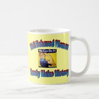 Rosie the Riveter shirt Mugs