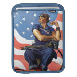 """Rosie the Riveter"" Sleeve For iPads"