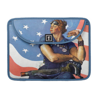 """Rosie the Riveter"" Sleeves For MacBooks"