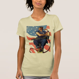 """Rosie the Riveter"" T-shirts"