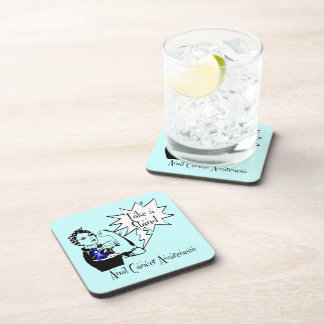 Rosie The Riveter Take a Stand Anal Cancer Drink Coaster