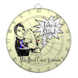 Rosie The Riveter Take a Stand Male Breast Cancer Dartboards