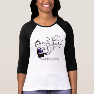 Rosie The Riveter Take a Stand Pancreatic Cancer Tshirt