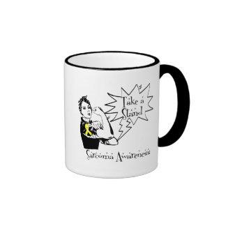Rosie The Riveter Take a Stand Sarcoma Mug