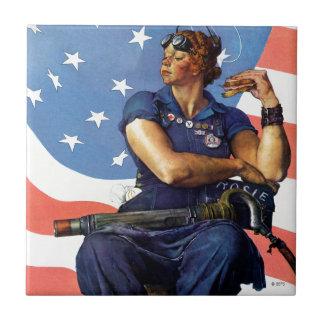 """""""Rosie the Riveter"""" Tile"""