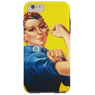 Rosie the Riveter Tough iPhone 6 Plus Case