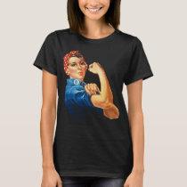 Rosie The Riveter Vintage Feminism T-Shirt