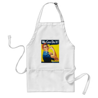 "Rosie the Riveter--""We Can Do It"" Apron"