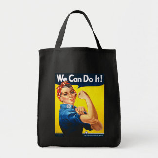 Rosie the Riveter, We Can Do It! Canvas Bag