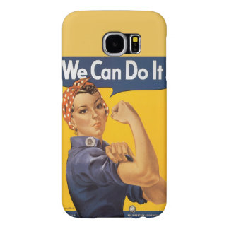 """Rosie the Riveter """"We Can Do IT"""" Samsung Galaxy S6 Cases"""