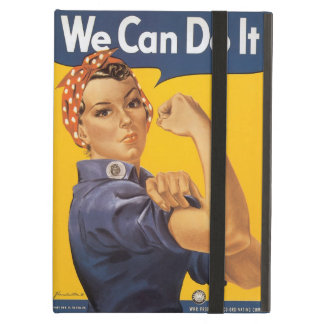 """Rosie the Riveter """"We Can Do IT"""" Case For iPad Air"""