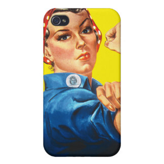Rosie the Riveter, We Can Do It! Cover For iPhone 4