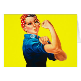 Rosie the Riveter - We can do it, Cultural Icon Card