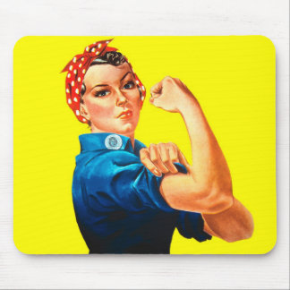 Rosie the Riveter - We can do it, Cultural Icon Mouse Pad