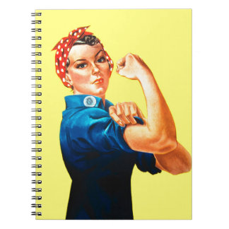 Rosie the Riveter - We can do it, Cultural Icon Spiral Notebook