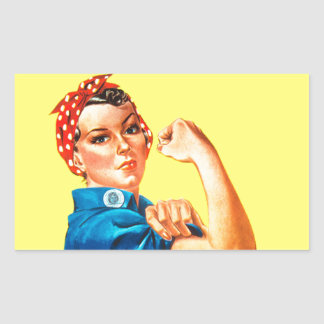 Rosie the Riveter - We can do it Cultural Icon Stickers