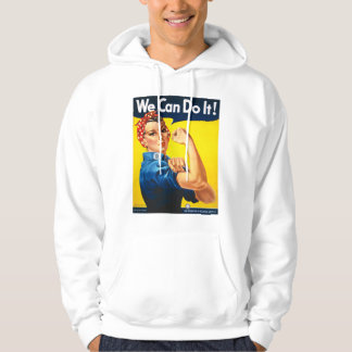 Rosie the Riveter, We Can Do It! Hoodie