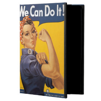 "Rosie the Riveter ""We Can Do IT"" Case For iPad Air"