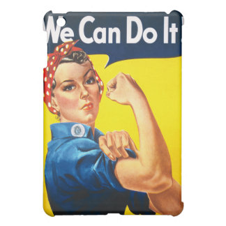 Rosie the Riveter, We Can Do It! iPad Mini Covers