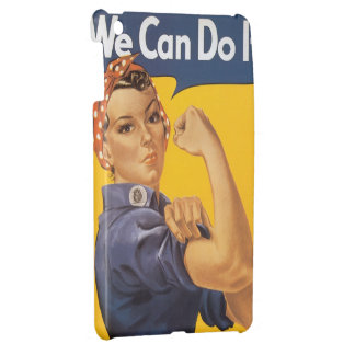 "Rosie the Riveter ""We Can Do IT"" Case For The iPad Mini"
