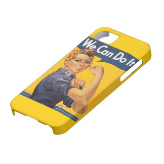 """Rosie the Riveter """"We Can Do IT"""" iPhone 5 Case"""