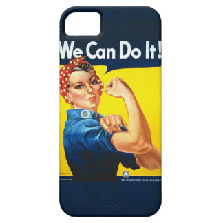 "Rosie the Riveter ""We Can Do It!"" iPhone SE/5/5s Case"