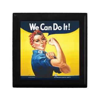 "Rosie the Riveter ""We Can Do It!"" Keepsake Box"