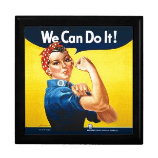 "Rosie the Riveter – ""We Can Do It!"" Keepsake Box"