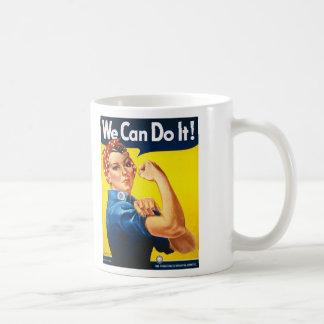 Rosie the Riveter, We Can Do It! Coffee Mug
