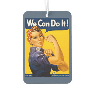 Rosie the Riveter We Can Do It Retro Vintage