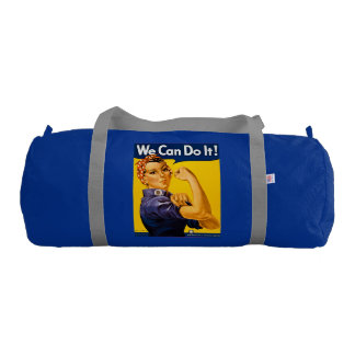 Rosie the Riveter We Can Do It Retro Vintage Duffle Bag
