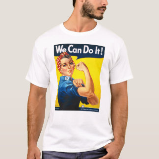 Rosie the Riveter, We Can Do It! T-Shirt