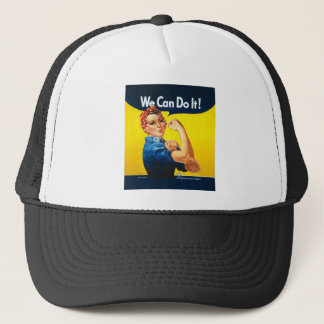 "Rosie the Riveter ""We Can Do It!"" Trucker Hat"