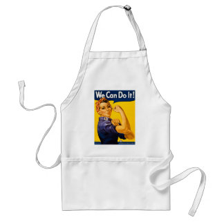 Rosie the Riveter We Can Do It Vintage Adult Apron
