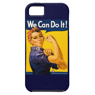 Rosie the Riveter We Can Do It Vintage iPhone 5 Cases
